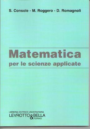 Immagine di MATEMATICA PER LE SCIENZE APPLICATE