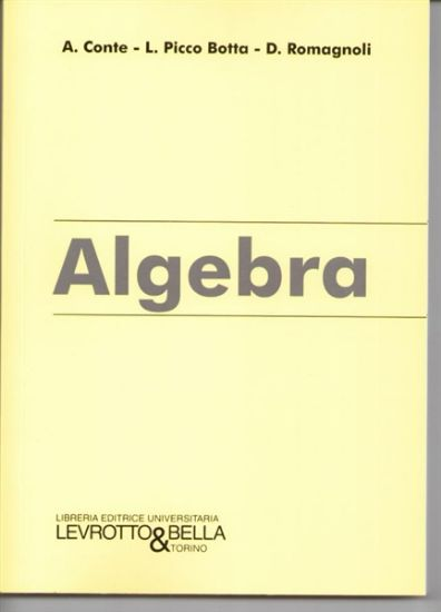 Immagine di ALGEBRA