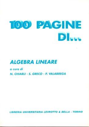 Immagine di 100 PAGINE DI ALGEBRA LINEARE