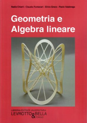 Immagine di GEOMETRIA E ALGEBRA LINEARE 2° ED.